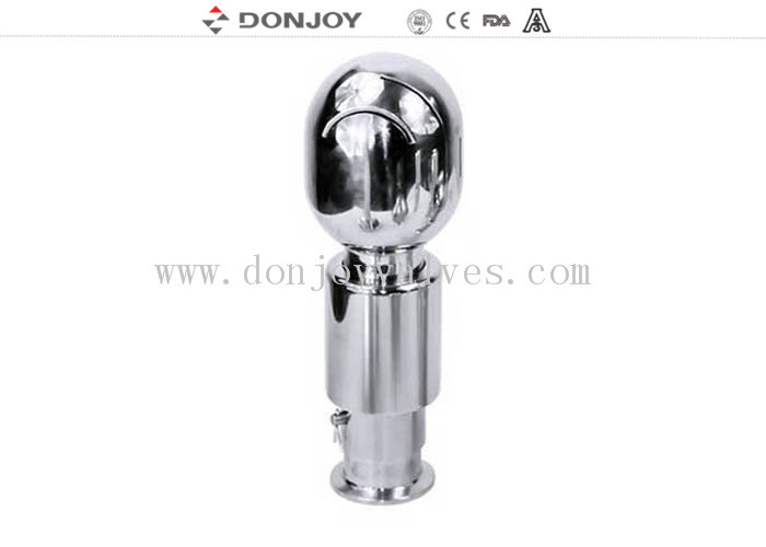 Fermentation Round Rotary  Stainless Steel Spray Ball Clamp Pin Connection