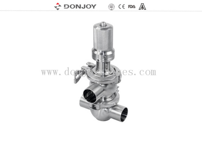 "2.5""  SS304  Four way Pressure Safety Valve adjustable between 1Bar to10 Bar"