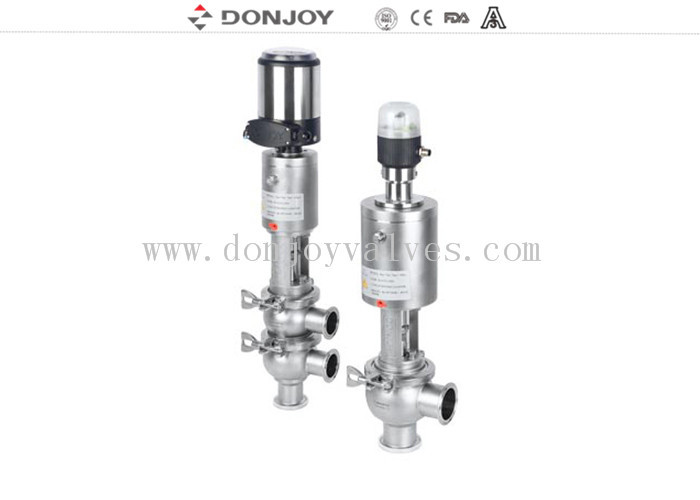 Clamped Connection Regulating Single Seated Valve for DN25 - DN100