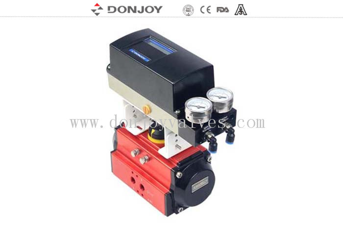 IL-ToP 4bar  - 7bar pneumatic ball valve for regulating valve