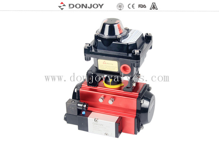 Intelligent Aluminum Actuator Horizontal Type Actuator With Control Box