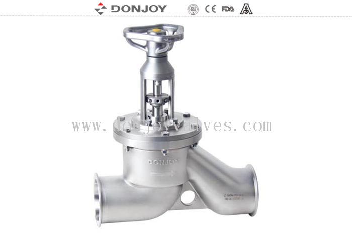 Professional Hand Control Stainless Steel Angle Valve FDA ISO Certification