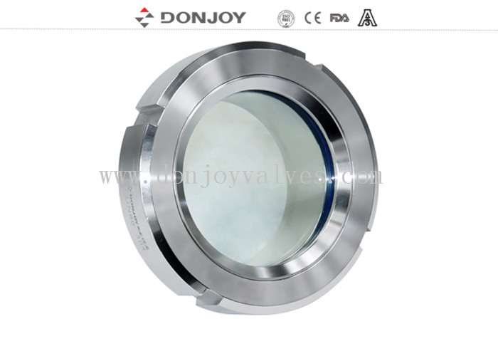 ISO9001 / 2008 DN25-DN150 Basic weld on sight glass for  pharmacy